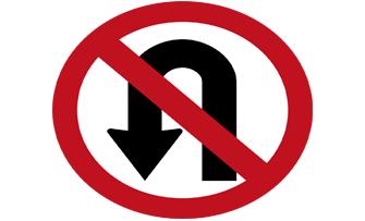 no-uturns-sign